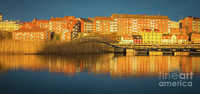 Sweden Photograph - Karlskrona Bridge by Inge Johnsson