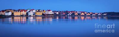Karlskrona Panorama Art Print by Inge Johnsson