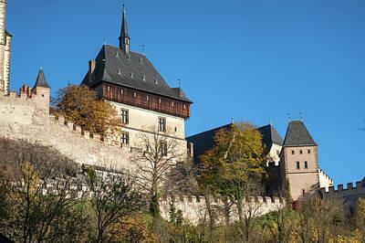 Photograph - Karlstein Castle  by Jenny Rainbow