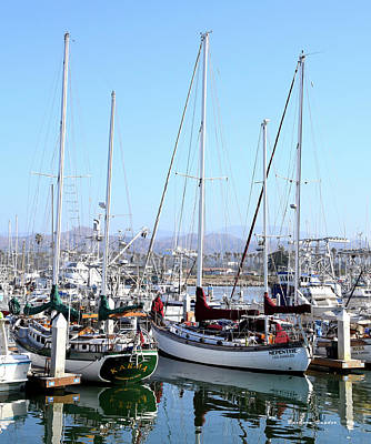 Photograph - Karma And Nepenthe Ventura Harbor Village by Barbara Snyder