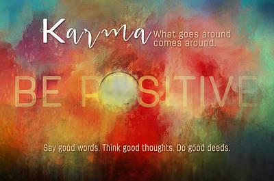 Painting - Karma by Christina VanGinkel