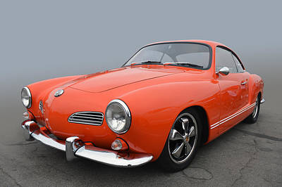 Photograph - Karmann Ghia by Bill Dutting