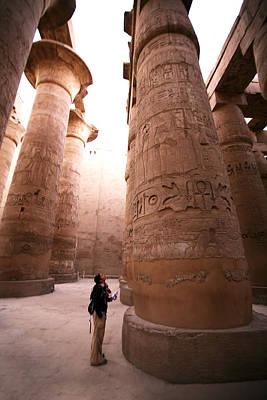 Karnak Temple Art Print