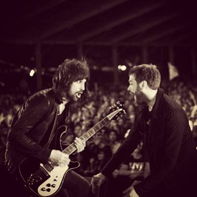 Rock And Roll Wall Art - Photograph - Kasabian by Stew Lamb