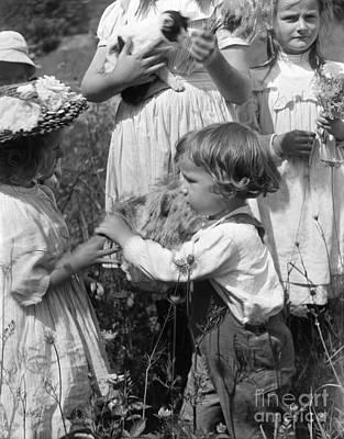 Photograph - Kasebier, Grandson, 1902.  by Granger
