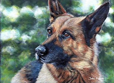 Painting - Kasha by John Neeve