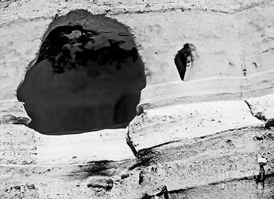 Photograph - Kasha-katuwe Cave 2 Bw by Tim Richards