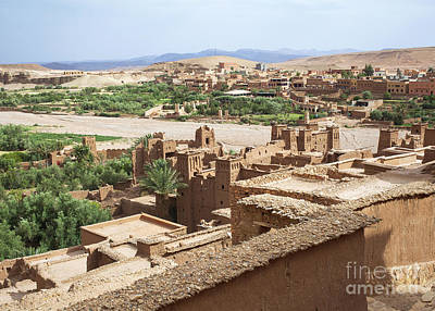 Moroccan Photograph - Kashbah Of Ait Benhaddou by Patricia Hofmeester