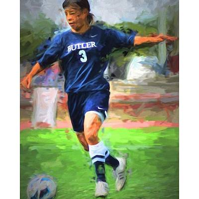 Sports Photograph - #kashimoto #butleruniversity by David Haskett