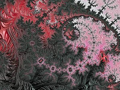 Tapestries - Textiles Digital Art - Kashmir Silk by Susan Maxwell Schmidt
