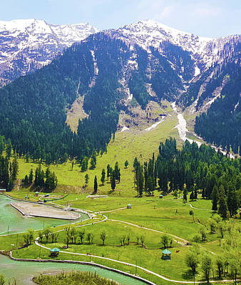 Photograph - Kashmir by Uma Gokhale