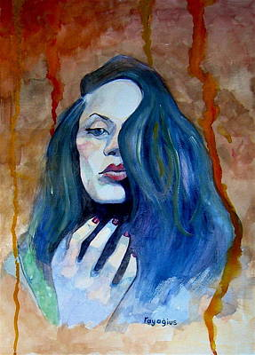 Turkish Painting - Kasia Ikasia by Ray Agius