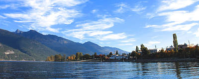 Photograph - Kaslo by Cathie Douglas