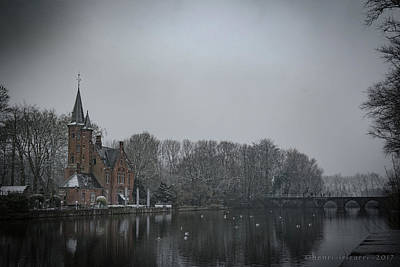 Photograph - Kasteel Minnewater Restaurant  by Henri Irizarri