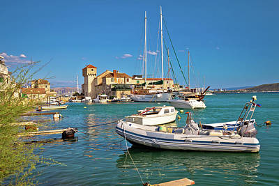 Photograph - Kastel Gomilica Old Town On The Sea Near Split by Brch Photography