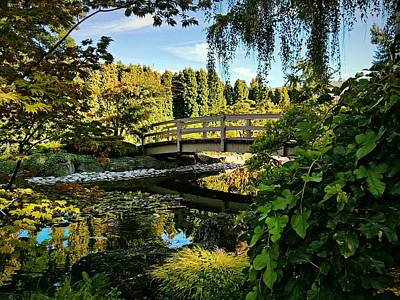Digital Art - Kasugai Gardens by Max DeBeeson