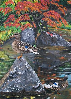 Painting - Kasugai by Sharon Duguay