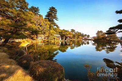 Photograph - Kasumigake Pond by Eva Lechner