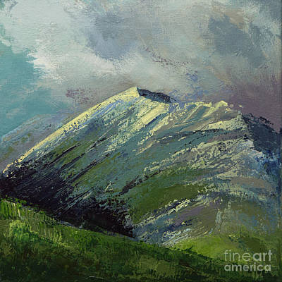 Painting - Katahdin Storm by Susan Cole Kelly Impressions