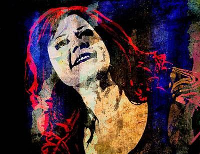 Lead Vocalist Painting - Kate Pierson by Otis Porritt