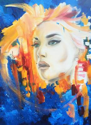 Painting - Kate Winslet by Matt Burke