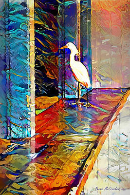 Digital Art - Kate's Bird by Pennie McCracken