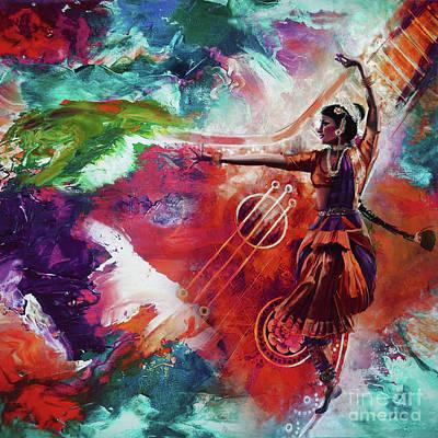 Kathak Dance 99u Original by Gull G
