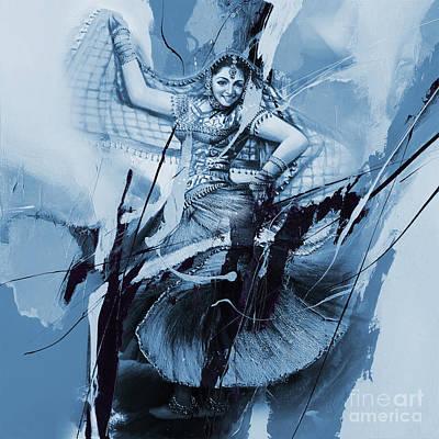 Kathak Dancer 456bo Original by Gull G