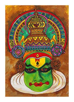Kathakali Painting - Kathakali by Mrunal Limaye
