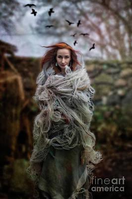 Photograph - Katharsis Series 1/3 Tethering by Agnieszka Mlicka