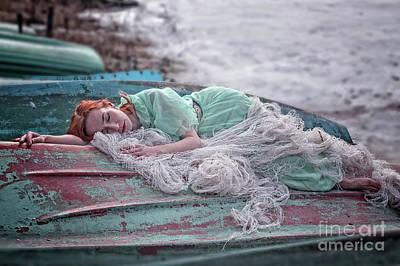 Photograph - Katharsis Series 2/3 Forgiveness by Agnieszka Mlicka