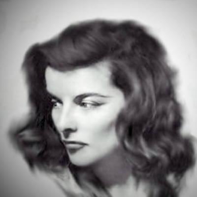 Katherine Hepburn Art Print