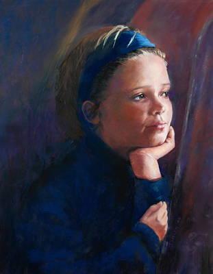 Katherine Art Print by Jeanne Rosier Smith