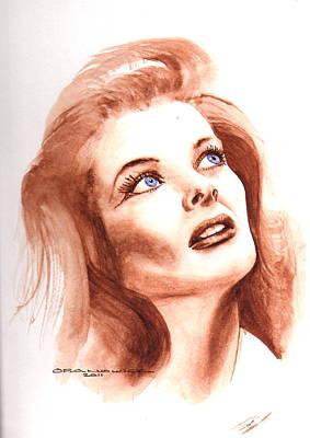 Katherine Hepburn Painting - Katherine by Karl Opanowicz