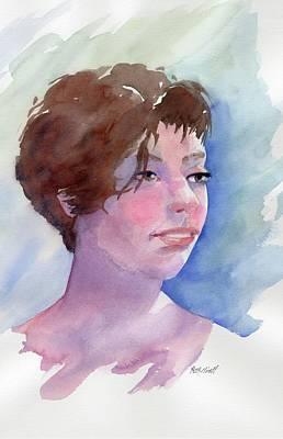 Katherine Art Print by Marsha Elliott