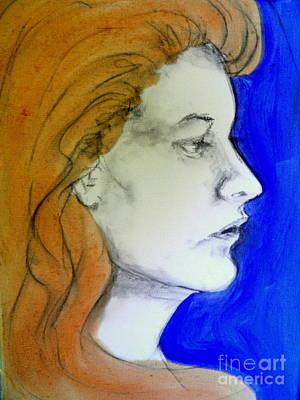 Painting - Kathleen by Ida Eriksen