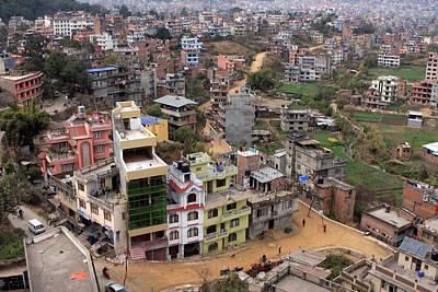 Photograph - Kathmandu by Aidan Moran