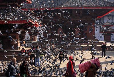 Photograph - Kathmandu Durbar Square, Nepal by Aidan Moran