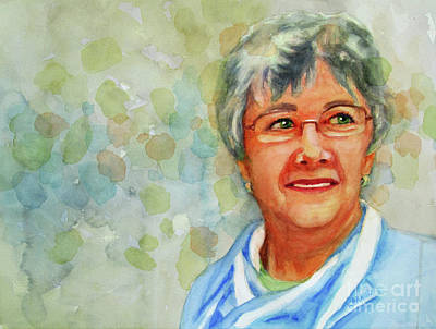 Painting - Kathy At Rest by Kathy Braud