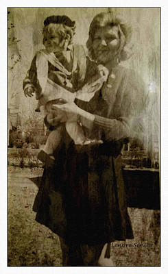 Photograph - Kathy Holding Kelly by Lenore Senior