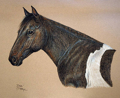 Drawing - Kathy's Dixie by Suzanne McKee