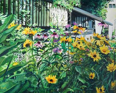 Painting - Kathys Garden by William Brody