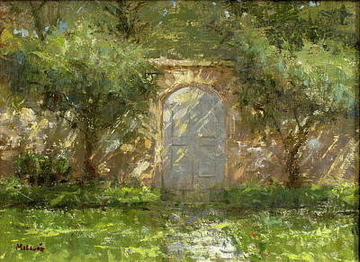 Wall Art - Painting - Katie's Door by Miguel Malagon