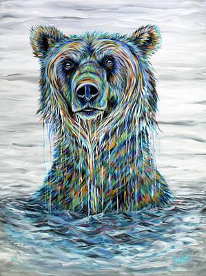 Painting - Katmai by Teshia Art
