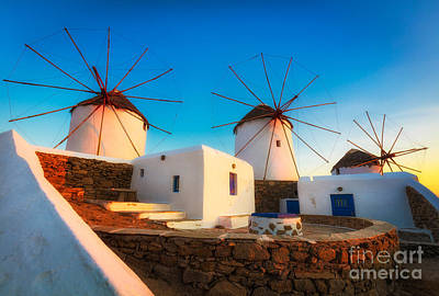 Mykonos Photograph - Kato Mili by Inge Johnsson