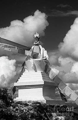 Photograph - Katok Monastery Stupa - Kham Tibet by Craig Lovell