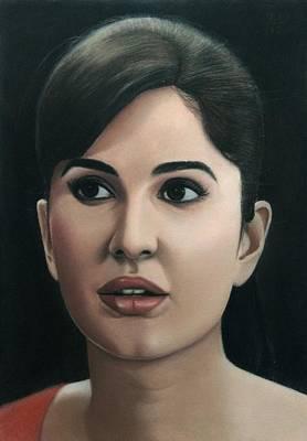 Katrina Kaif Art Print