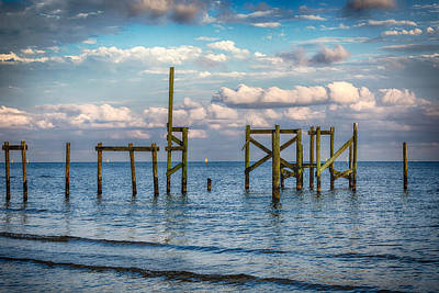 Photograph - Katrina's Destruction by Sennie Pierson