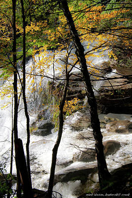 Photograph - Katterskill Falls Downriver by Mark Alesse