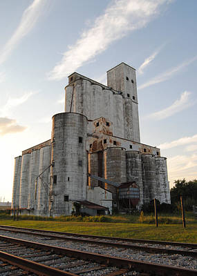Photograph - Katy Texas Rice Mills by Nathan Little